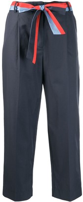 Chinti and Parker Formal Cropped Trousers