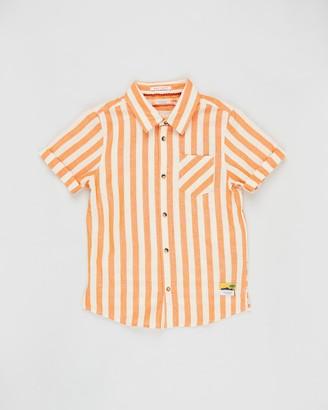 Scotch Shrunk Regular Fit Short Sleeve Shirt - Teens