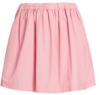 Plan C Pleated Tecnico Skirt