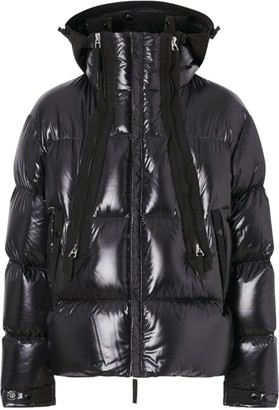 Burberry Logo Hooded Puffer Jacket