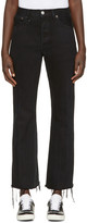 RE/DONE Re-done Black The Leandra Jeans