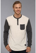 Lifetime Collective Victory L/S Henley (Oatmeal Combo) - Apparel