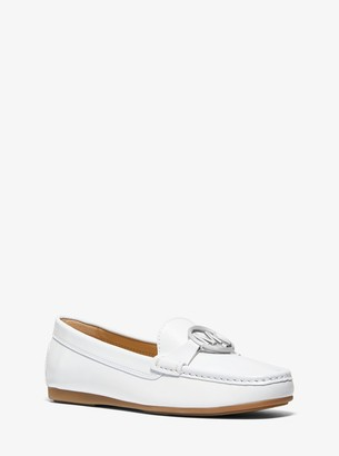 MICHAEL Michael Kors Crawford Leather Moccasin