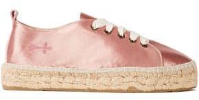 Manebi Satin Platform Espadrille Sneakers