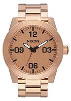 Nixon Men's Corporal SS Japanese-Quartz Watch with Stainless-Steel Strap