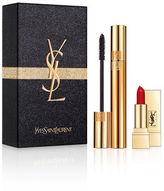 Saint Laurent Mascara Volume Effet Faux Cils + Rouge Pur Couture Set