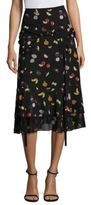 Sandy Liang Chica Cut-Out Skirt