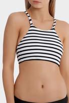 All About Eve Stripe Bikini Crop Top