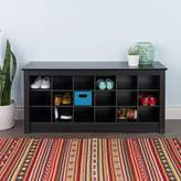 Prepac Shoe Storage Cubby Bench