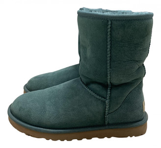 UGG Turquoise Suede Ankle boots