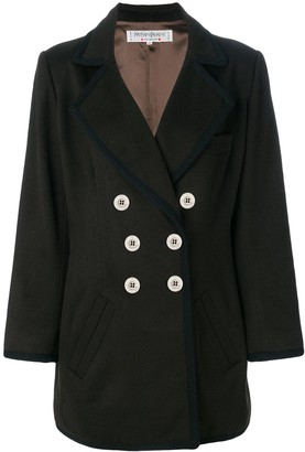 Saint Laurent Pre-Owned double breasted coat