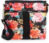 Le Sport Sac Essential Floral Nylon Crossbody Bag