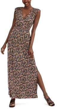 INC International Concepts Inc Ditsy Floral-Print Maxi Dress, Created for Macy's