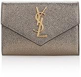 Saint Laurent Women's Envelope Wallet-GREY