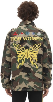 Dmckal Women Military Jacket