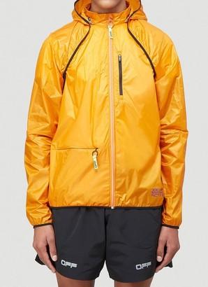 Off-White Zipped Lightweight Jacket