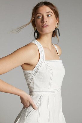 Maeve Alessandra Midi Dress By in White Size 0