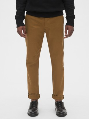 Gap Selvedge Khakis in Straight Fit with GapFlex