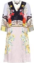 Etro Floral silk-blend minidress