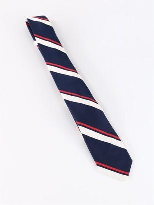 Thom Browne RWB Stripe Tie