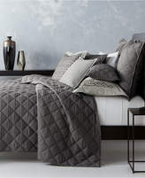 Hotel Collection Fretwork Quilted Full/Queen Coverlet, Created for Macy's Bedding