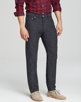 Shipley & Halmos Slim Fit Rhodes Birdseye Pants