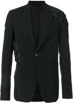 Rick Owens contrast casual blazer