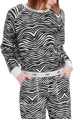 UGG Nena Logo Trim Pullover Sweatshirt