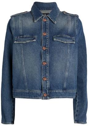 7 For All Mankind Denim Uniform Jacket