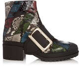 Burberry The Buckle watersnake ankle boots