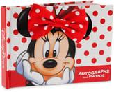 Disney Minnie Mouse Autograph Book and Photo Album