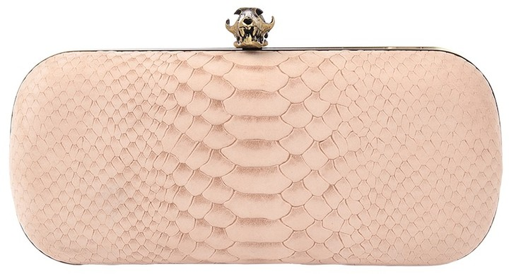 House Of Harlow Wynn Clutch In Stone As Seen On Nicole Richie