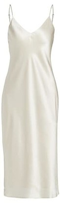 L'Agence Jodie Silk Slip Dress