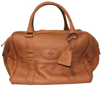 Mulberry Brown Leather Tote