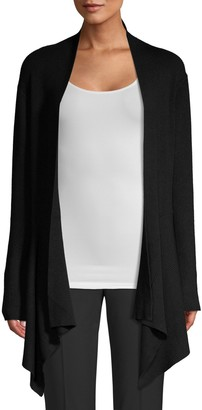 Donna Karan Asymmetric Open-Front Cardigan