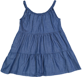 Sweet & Soft Light Blue Denim A-Line Dress - Infant & Toddler