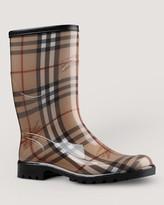 Burberry Rain Boots - Check Print