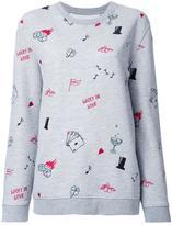 Zoe Karssen multi print sweatshirt