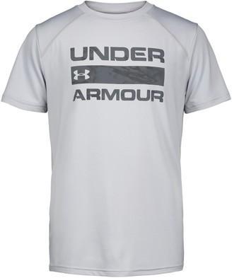 Under Armour Boys' Pre-School UA Sky Camo Shore Break Short Sleeve