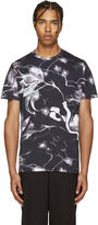 Diesel Black T-Joe-Gh Flower T-Shirt