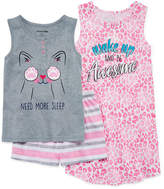 Asstd National Brand 3-pc. Pajama Set Girls