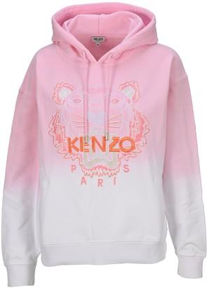 Kenzo Logo Embroidered Hoodie