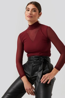 Trendyol Transparent Knitted Blouse