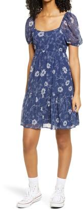 BP Short Sleeve Tiered Dress
