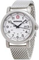 Wenger Urban Classic Analog Watch - 34mm, Steel Mesh Bracelet (For Women)