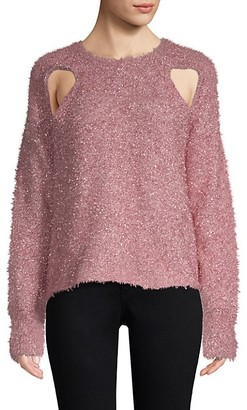 Alice McCall Metallic Cutout Sweater
