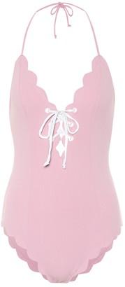 Marysia Swim Broadway halter one-piece swimsuit