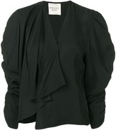 A.W.A.K.E. Mode Ruched Sleeve Top