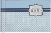 "Gibson C.R. All Boy"" Grandma's Brag Book in Blue"