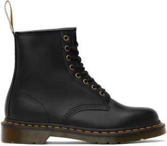 Dr. Martens Black Vegan 1460 Felix Boots